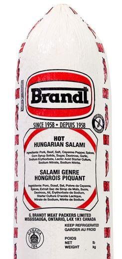 Hot Hungarian Salami