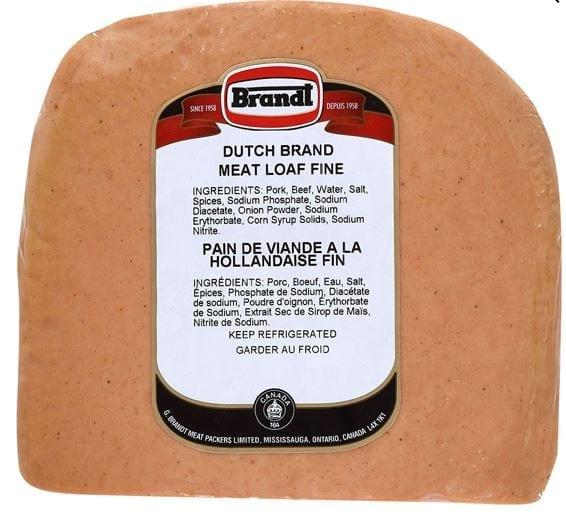 Dutch Meat Loaf