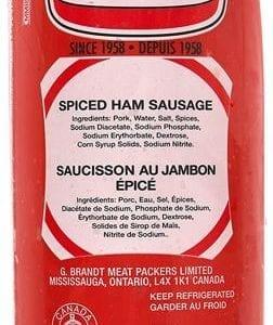 Spiced Ham Sausage Half