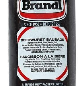 Beerwurst Sausage Half