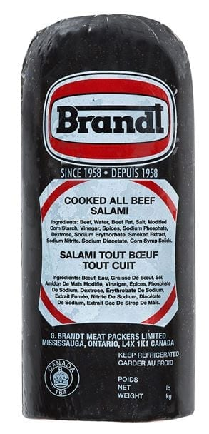All Beef Salami Half