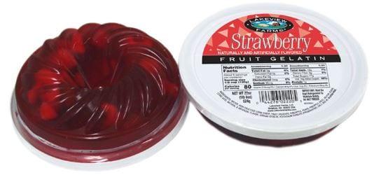 Strawberry Fruit Gel Ring