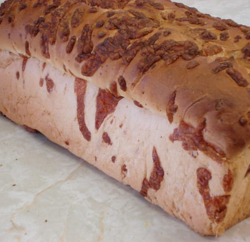 Cheese Bread Unsliced