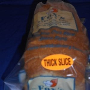 """Whole Wheat Bread 450g Thick Sliced (3/4"""")"""